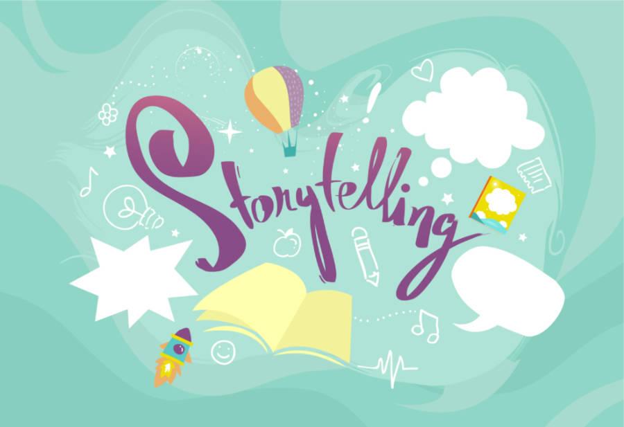 הסיפור מאחורי Storytelling