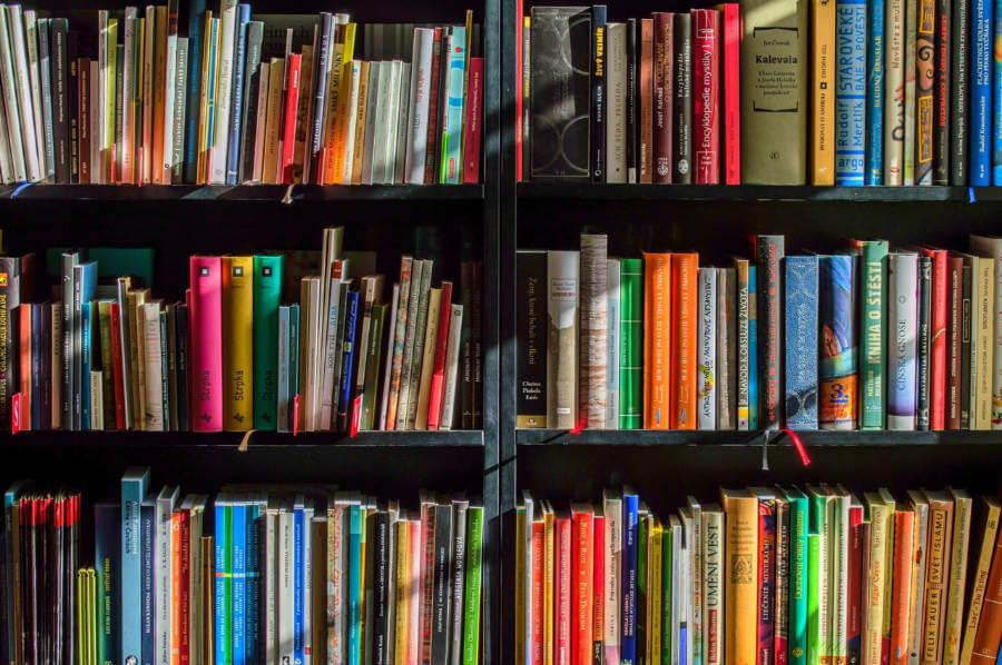 ספרים על ספרייה