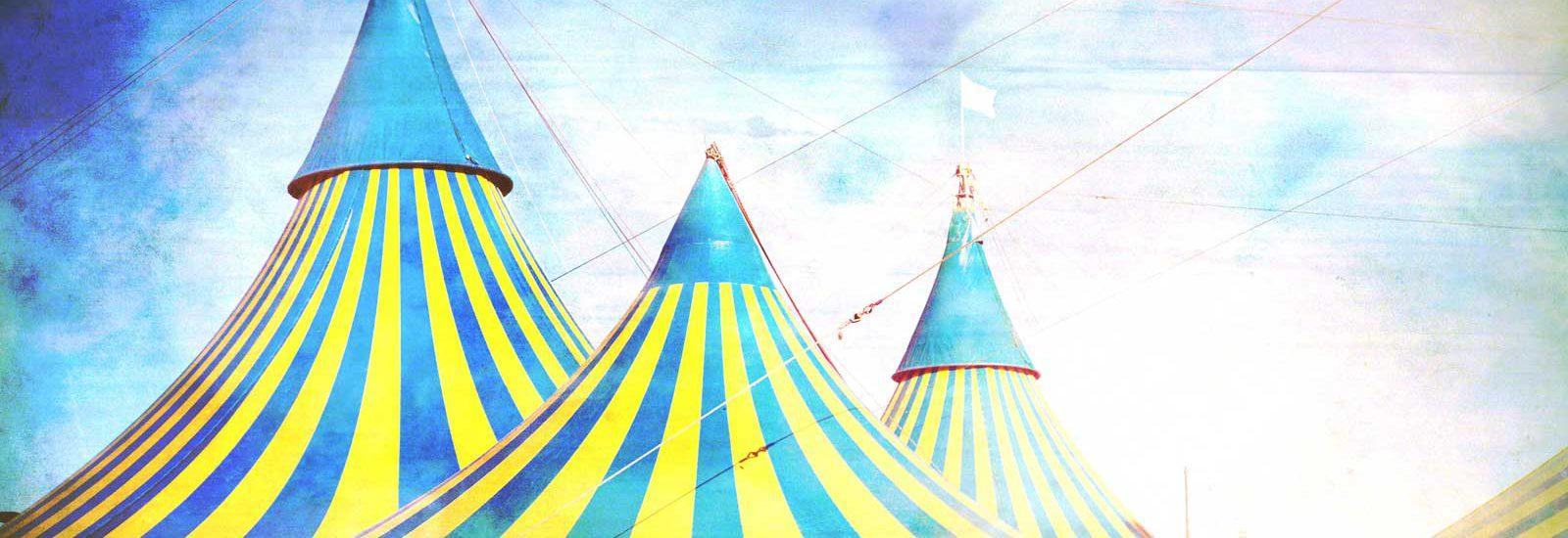 קופירייטינג - 3 אוהלי קרקס