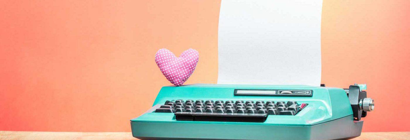 סדנאות תוכן מכונת כתיבה